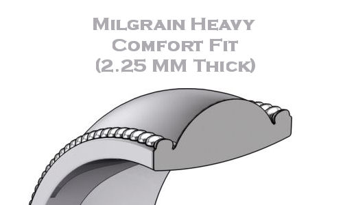 Milgrain Heavy Comfort Fit